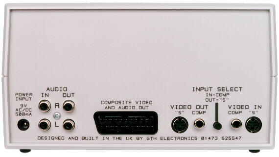 Back View of ACE, Showing Connections. File Size 24k